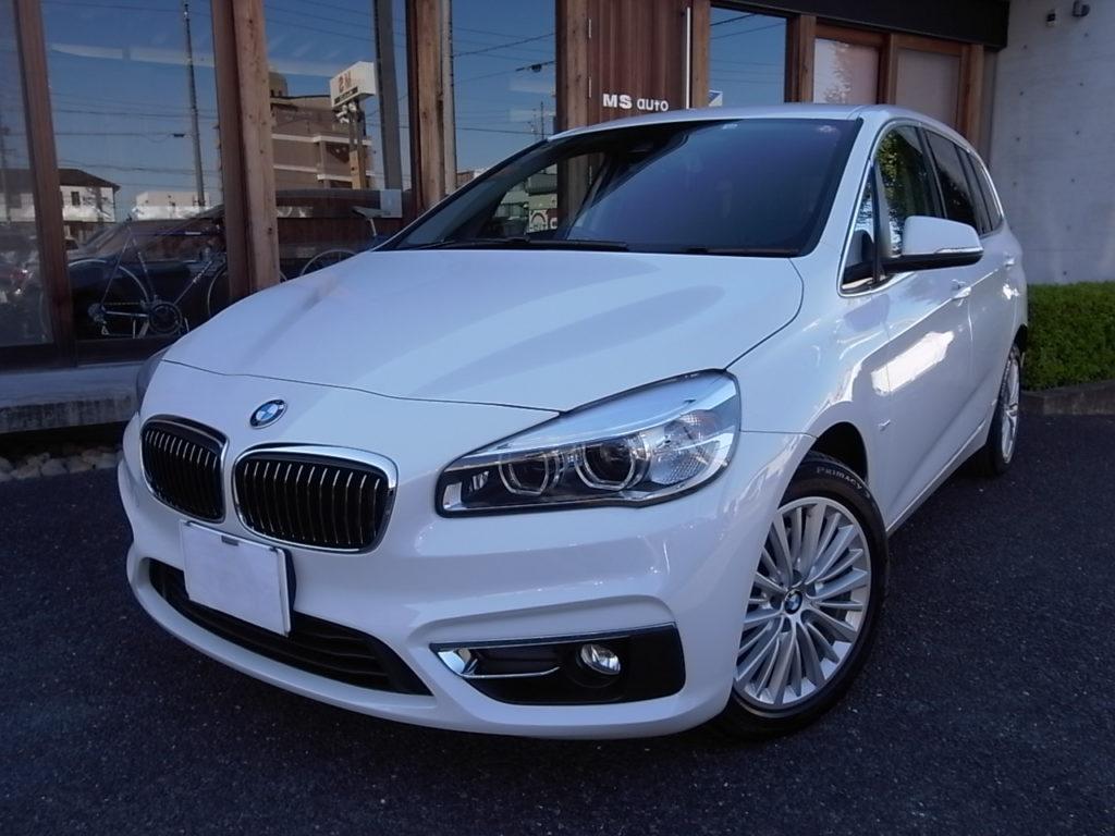 BMW218d グランツアラーラグジュアリー